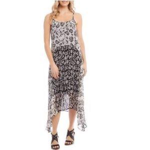 Karen Kane Beach Club Mixed Cami Dress size L, NWT